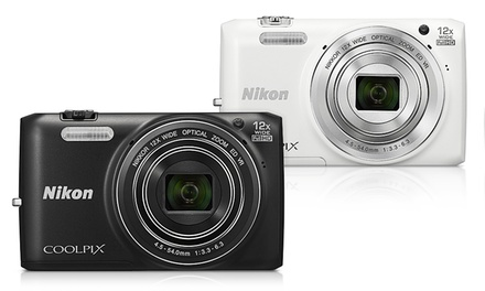 Nikon Coolpix S6800 16MP 1080p Digital Camera with 12x Zoom (Refurbished)