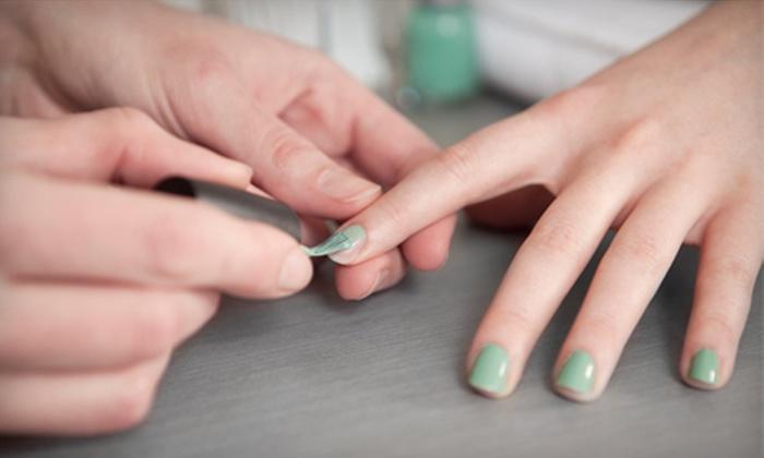 Casual Cuts - Santa Clara: One or Three Mani-Pedis at Casual Cuts (Up to 54% Off)