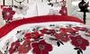 Floral Reversible Duvet Set
