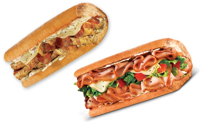Quiznos - Springfield: Sandwich Meals at Quiznos (Up to 52% Off). Two Options Available.
