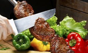 Bertolucci Brazilian Steakhouse: All-You-Can-Eat Dinner with wine and dessert for Two or Four at Bertolucci Brazilian Steakhouse (Up to 41% Off)