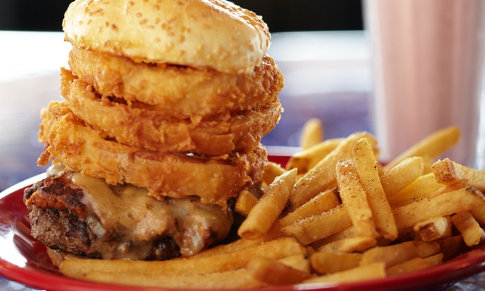 Square 1 Burgers & Bar - Multiple Locations: $9 for $16 Worth of Burgers and Drinks at Square 1 Burgers & Bar
