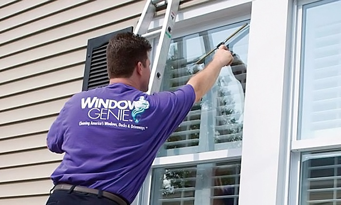 Window Genie of Keller - Fort Worth: Window Cleaning Services or Gutter Cleaning and Inspection from Window Genie of Keller (Up to 60% Off)