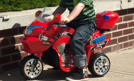 groupon daily deal - Lil' Rider FX Battery-Powered 3-Wheel Bike