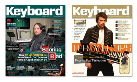 1-Year, 12-Issue Subscription to Keyboard Magazine