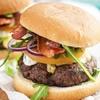 Menú de salchipapa y hamburguesa