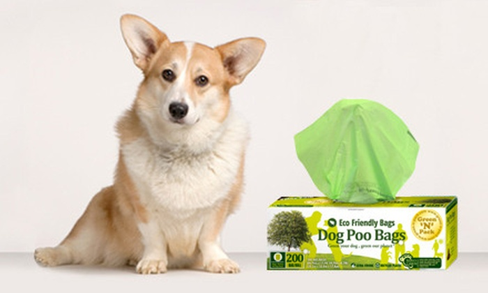 500 Green 'N' Pack Dog-Waste Bags: $19 for a 500-Count Package of Green 'N' Pack Eco-Friendly Dog-Waste Bags ($39.96 List Price)