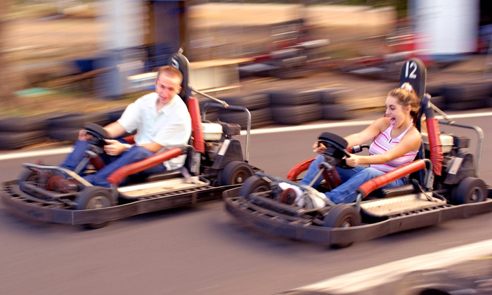 Raceway To Fun - Newport: $14 for One Go-Kart Ride and Four Additional Fun-Park Activities at Raceway to Fun (Up to $26 Value)