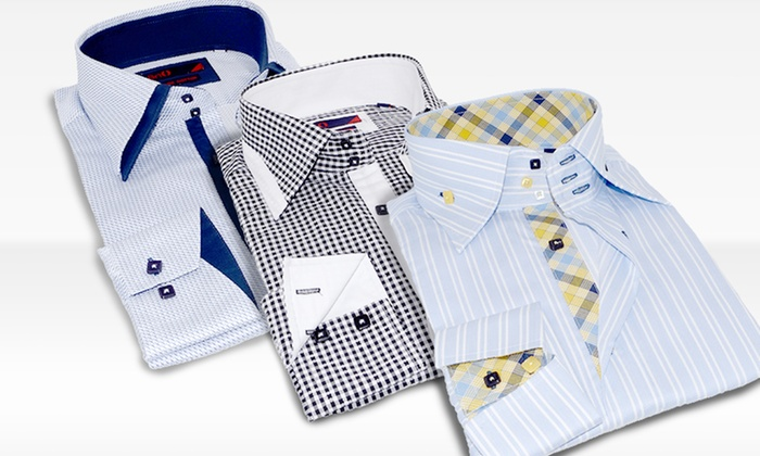 Brio Men's Dress Shirt: Brio Men's Dress Shirt. Multiple Styles Available. Free Shipping and Returns.