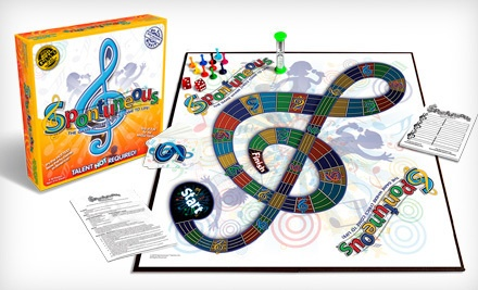 Spontuneous Family Party Board Game (a $25 value) - Spontuneous Party Board Game in
