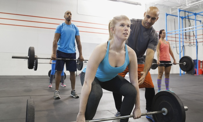 All In Athletics - Multiple Locations: Five Personal Training Sessions with Diet and Weight-Loss Consultation from All in Athletics (65% Off)