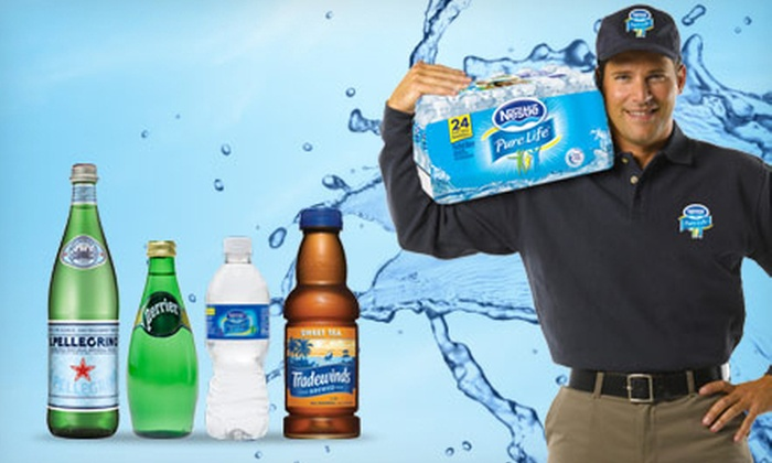 Nestle Pure Life Direct - Chicago: Three Months Delivery of Water, Sparkling Water, or Tea from Nestlé Pure Life Direct (Half Off)