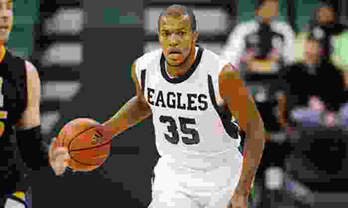 Eastern Michigan University Eagles Men's Basketball - EMU Convocation Center: EMU Men's Basketball Game for Two at EMU Convocation Center on December 8 or 22 with Pizza or T-shirts (Up to 51% Off)