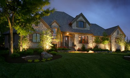 Outdoor Lighting Package from Infinity Landscape Lighting (Up to 92% Off). Two Options Available.