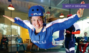 iFLY: $55 for Two Indoor-Skydiving Flights with Video for One Person at IFLY ($69.90 Value)