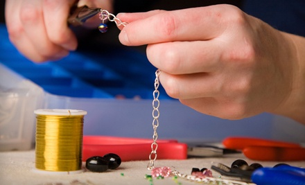 Dichroic Glass Jewelry-Making Class for 1 (a $65 value) - Dlynne Designs in Fort Myers