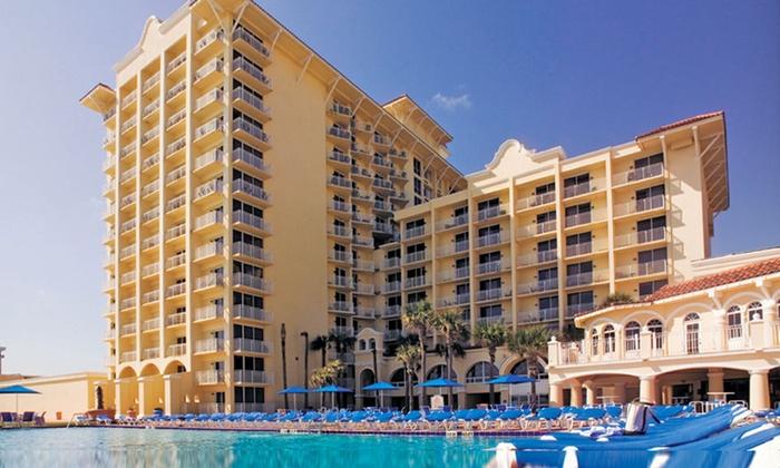 Plaza Resort & Spa - Daytona Beach, FL: Stay with $20 Resort Credit at Plaza Resort & Spa in Daytona Beach, FL. Dates into February.