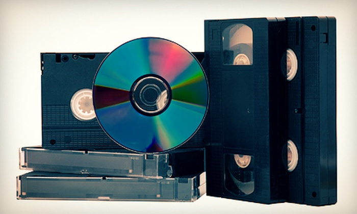Action Video Service - Richardson: Videotape to DVD Transfer for One or Two Tapes at Action Video Service in Richardson (Up to 52% Off)