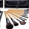 Professional Makeup Brush Set with Travel Case (12-Piece)