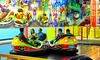 Party Zone USA **New Ownership - Mechanicstown: Amusement Rides, Soft Play, and Lazer Runner at The Party Zone USA (Up to 61% Off). Four Options Available.