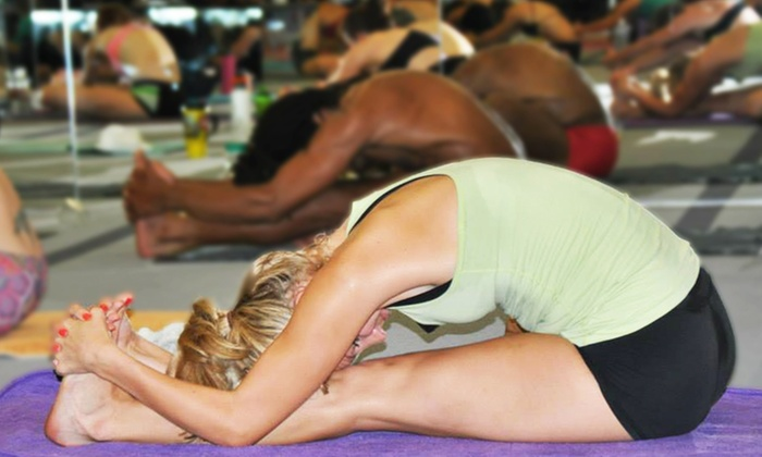 Bikram Yoga Fort Worth - Cultural District: 10 Classes or One Month of Classes at Bikram Yoga Fort Worth (Up to 54% Off)