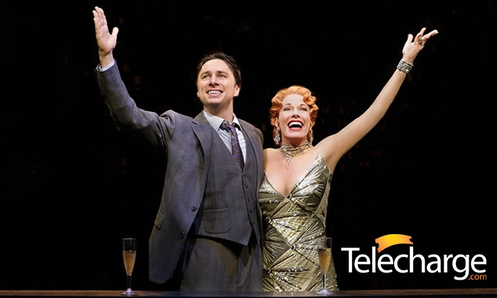 """Bullets Over Broadway"" - St. James Theatre: Final Weeks: ""Bullets over Broadway"" Starring Zach Braff at St. James Theatre, August 7-17 (Up to 37% Off)"