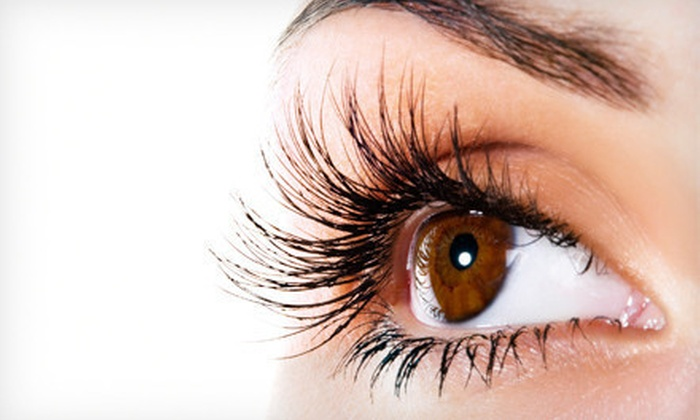 Lash Looks - Near North Side: Simply-Looks or Flirty-Looks Set of Faux Mink Eyelash Extensions or Lash Perm at Lash Looks (Up to 72% Off)