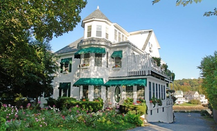 Groupon Deal: 1-Night Stay for Two at Harbour Towne Inn in Boothbay Harbor, ME