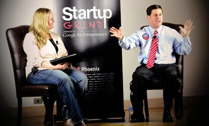 $27 for Admission for Two to an Event from Startup Grind ($50 Value)