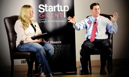 $25 for Admission for Two to an Event from Startup Grind ($50 Value)