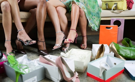 Shoes, Handbags, and Accessories at Shoetique (Up to 52% Off). Two Options Available.