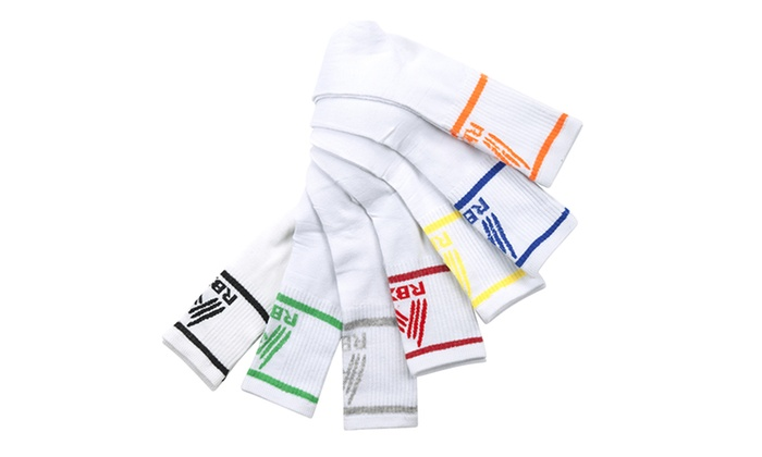 RBX Men's High Performance Crew Socks (7-Pack)