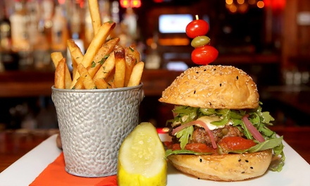 American Pub Food at Tequila Cowboy  (43% Off). Two Options Available.
