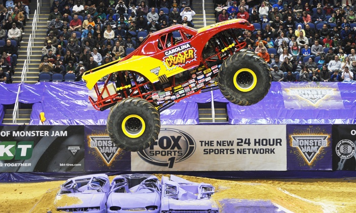 Monster Jam in - Manchester, NH | Groupon