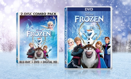 Disney's Frozen on DVD or Blu-ray from $19.99–$24.99. Free Returns.