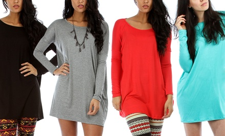 Plus-Size Tunic Dress