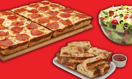 Pizza, Subs, and Wings at Jet's Pizza (Up to 45% Off). Two Options Available.