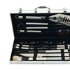 Heavy-Duty Barbecue Set with Case (19-Piece)