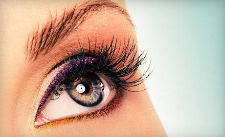 Full Set of Regular Eyelash Extensions (a $100 value) - My Nails Boutique and Spa in Avondale