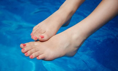 image for Classic Pedicure with Optional Manicure at Jarvis Salon and Spa (Up to 47% Off)