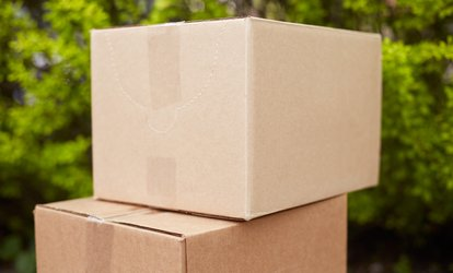 image for Two Movers and Truck or Trailer from Hoffmann Movers (Up to 55% Off). Three Options Available.