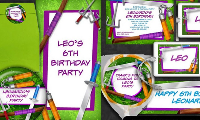 Wholesale Party Supplies: $19 for $40 Worth of Personalized Party Supplies from Wholesale Party Supplies