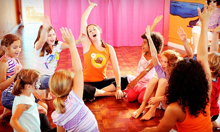 Zooga Yoga - Culver City: Three Children's Classes or Five Adult Classes at Zooga Yoga (Up to 78% Off)