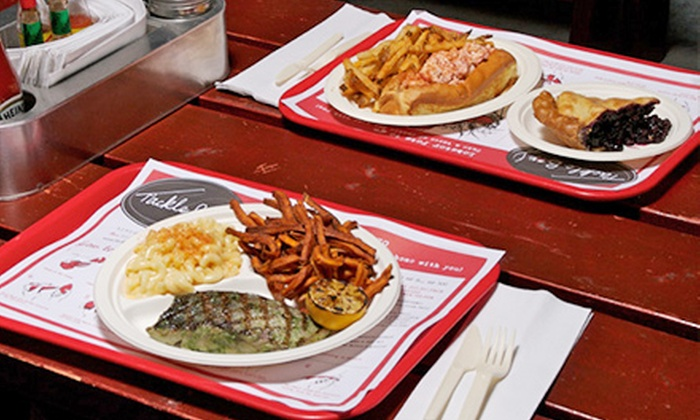 Tackle Box - Georgetown: $15 for $30 Worth of Seafood and Drinks at Tackle Box