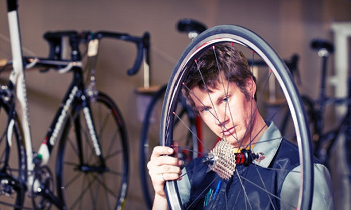 Bike Emporium - South Scottsdale: Bicycle Tune-Up or a One-Day Rental of Two Hybrid Cruiser Bikes at Bike Emporium (Up to 53% Off)