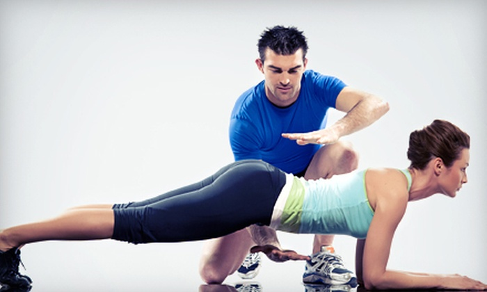 All 4 One Fitness - City Center: Four or Six Personal-Training Sessions at All 4 One Fitness (Up to 86% Off)