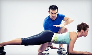 All 4 One Fitness: Four or Six Personal-Training Sessions at All 4 One Fitness (Up to 86% Off)