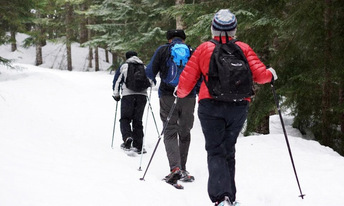 Rare Earth Adventures - Portland: $75 for All-Day Snowshoeing Tour with Transportation and Lunch from Rare Earth Adventures ($150 Value)