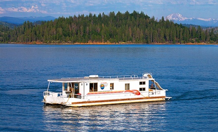 Groupon Deal: 7-Night Stay in an Executive or Presidential Houseboat at Silverthorn Resort in Redding, CA