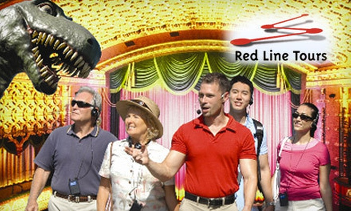 Red Line Tours - Hollywood: Hollywood Behind-the-Scenes Walking Tour for Two or Four from Red Line Tours (Up to 61% Off)